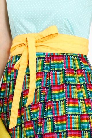 Yellow Obi Belt