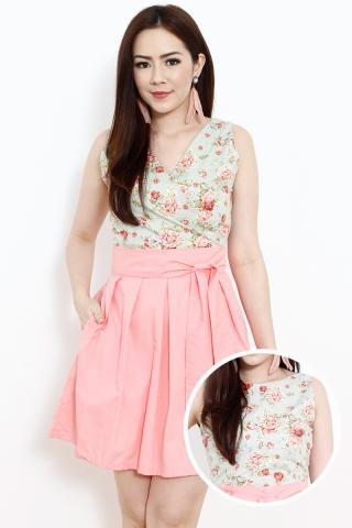 *BACKORDER2* Sweet Pea Reversible Dress