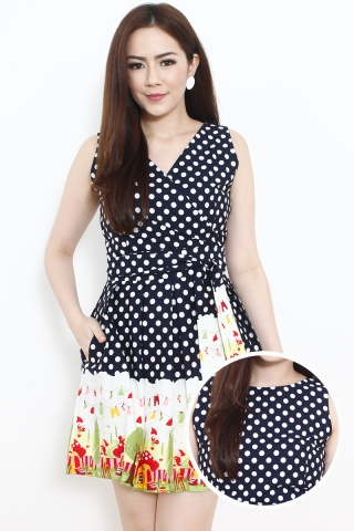 Summer Party Reversible Dress