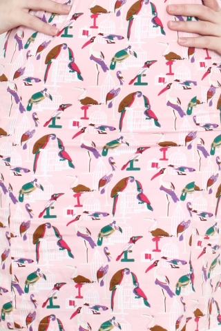 Shonda in Pink Pelican Prints