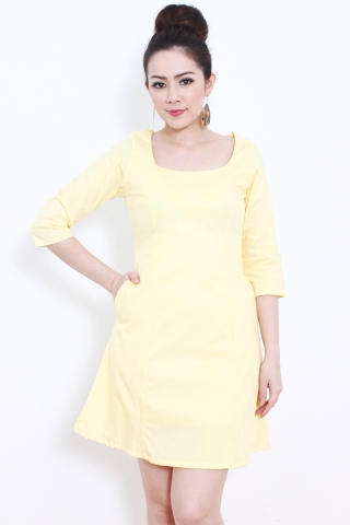 Ava in Yellow