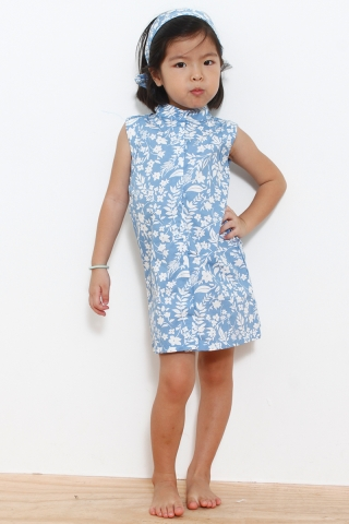 Little Blue Moana (Little Charm Girl)