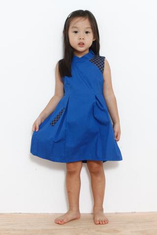 Geisha in Cobalt (Little Charm Girl)