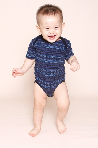 PlayDate |  Navy Tribal Romper
