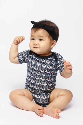 PlayDate |  Blueberry Florals Romper