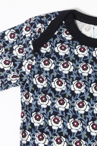 PlayDate |  Blueberry Florals Romper