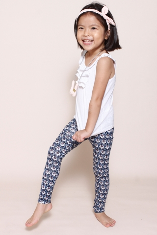PlayDate |  Blueberry Florals Leggings