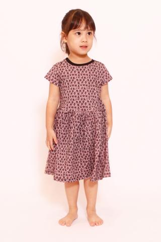 PlayDate | Dusty Rose Little Dress