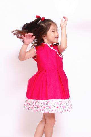 Poppy Dress (Little Girl Charm)