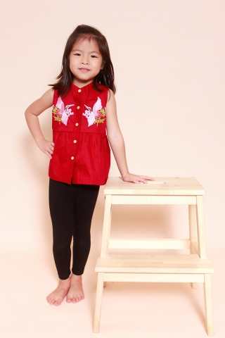 [EW] Phoenix Wine Top (Little Girl Charm)