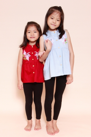 [EW] Phoenix L. Wash Top (Little Girl Charm)