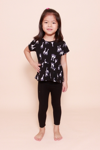 PlayDate | Shadow Giraffe Top (Little Girl)