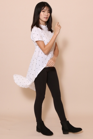 Dot-it Longline Top