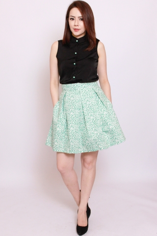 Vonce Skirt in Minty