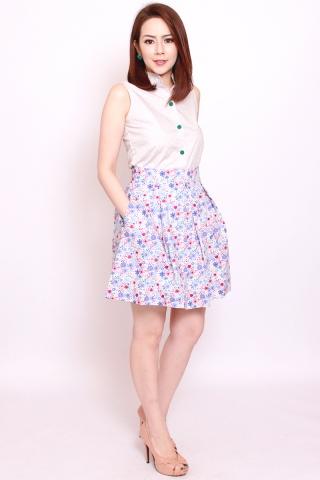 Vonce Skirt in Spring