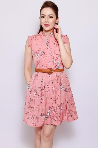 Eulalia in Peach Rose