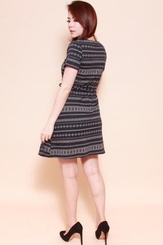 Playdate | Egyptian Aztec Wrap Dress