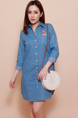[EW] Graceful Gerald - The Giraffe Shirtdress