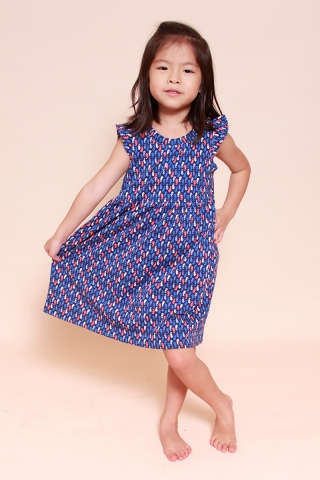 PlayDate | Dancing Seahorse  Dress (Little Girl)