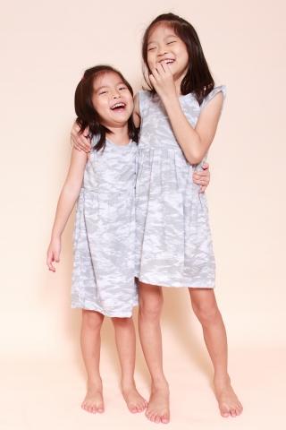 PlayDate | Camo Stone Dress  (Girls)