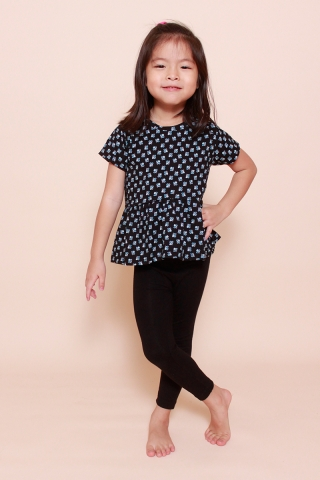 PlayDate | Brianna Peplum Top (Girls)