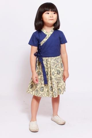 Dorothea Hanbok in Bluebell (Little Girl Charm)