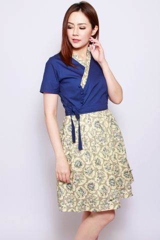 Dorothea Hanbok in Bluebell (Tall)