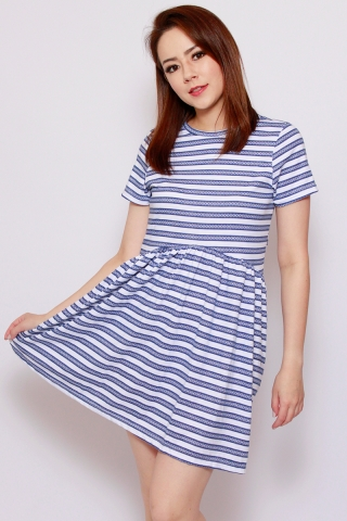 Playdate | Nautical Babydoll Dress