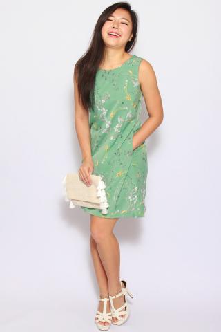Soltis Vintage Dress