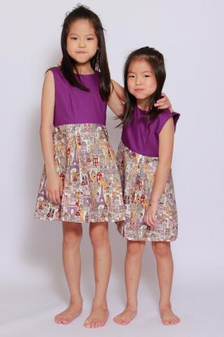 Paris Le Petit Dress (Little Girl Charm)