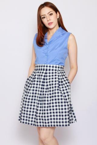 Valance Skirt in Gingham