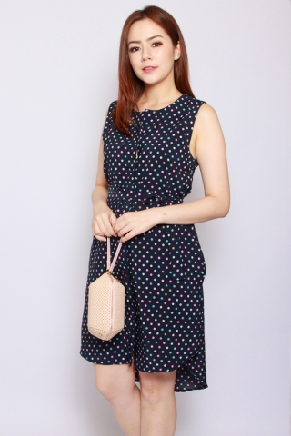 Fantine Shirt Dress in Pretty Dots (Tall)