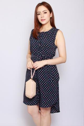 Fantine Shirt Dress in Pretty Dots (Tall)