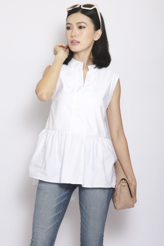 Colleen Top in White