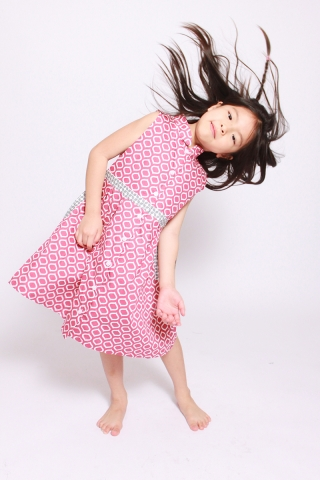 Paudia Shirtdress in Brilliance (Little Girl)