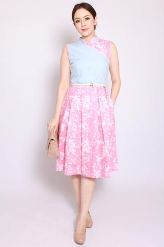 Astrid Orient Pink Petals  (Midi)