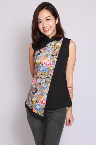 Alita Shimmer Blossom Top