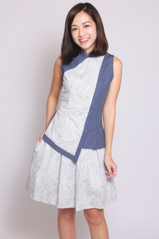 Alita Snow Lace Print Skirt