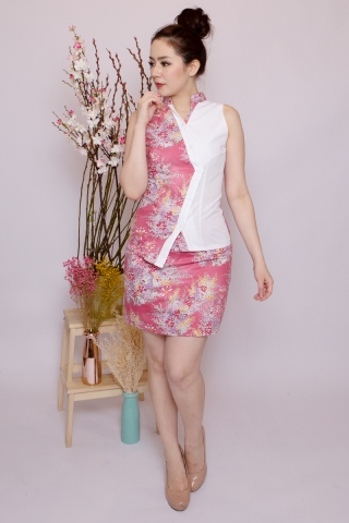 Lebaya Skirt in Rosie