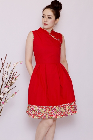 Orabelle Orient in Red (Tall)