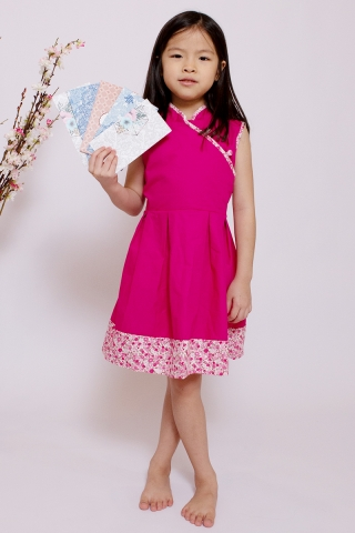 Orabelle Orient in Pink  (Little Girl)