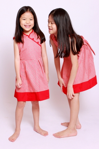 Haruyo In Red Gingham (Little Girl)
