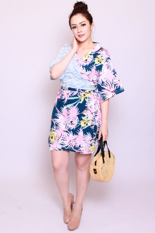 Playdate | Aiko Kimono Wrap Dress