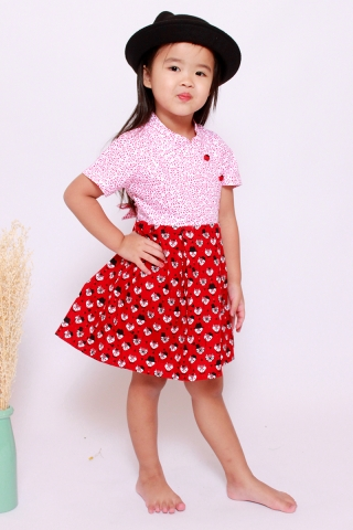 What a Fox! Dress (Little Girl)