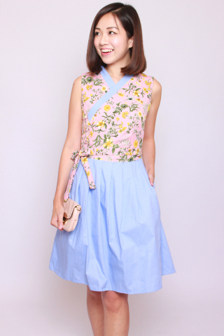 Annie Hanbok in Romantic Spring (Tall)