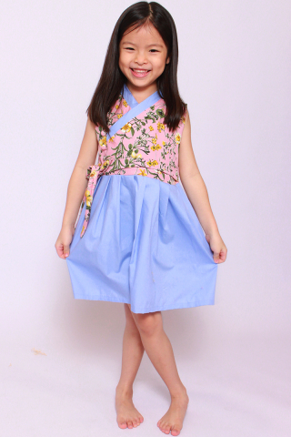 Annie Hanbok in Romantic Spring(Little Girl)