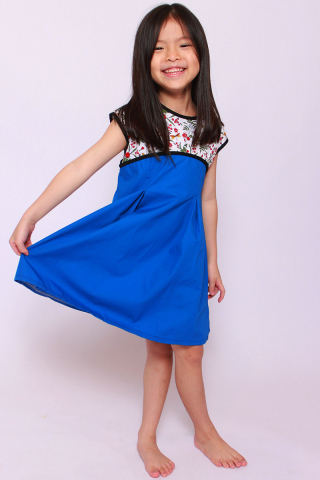 Josie Blue Dress (Little Girl)
