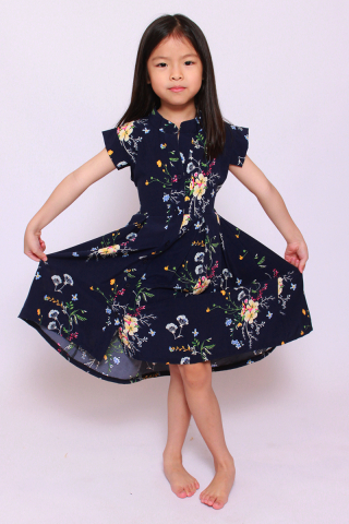Eulalia In Navy (Little Girl)