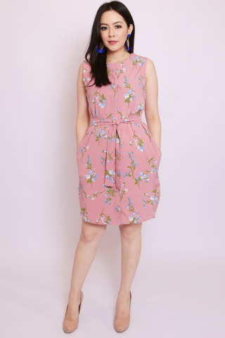 Heidi Shirtdress in Vintage Floral (Tall)