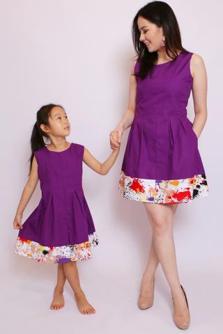 Brooke in Purple (Little Girl)